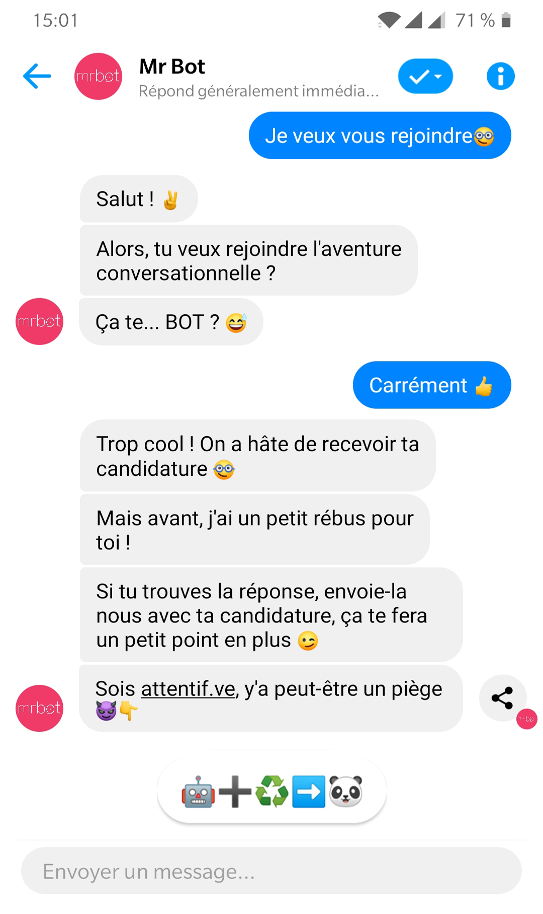 Screenshot Mr Bot Recrute